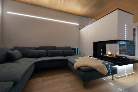 Smart Home Salzburg Wohnzimmer