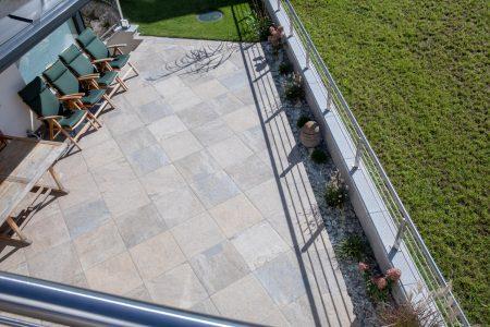 Terrassen Gartenansicht